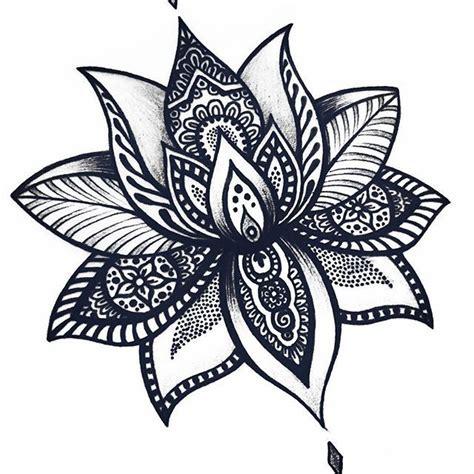 lotus mandala ideas  pinterest lotus mandala