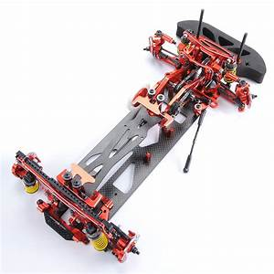 1 10 Scale Alloy  U0026 Carbon G4 Rc 1  10 4wd Drift Racing Car