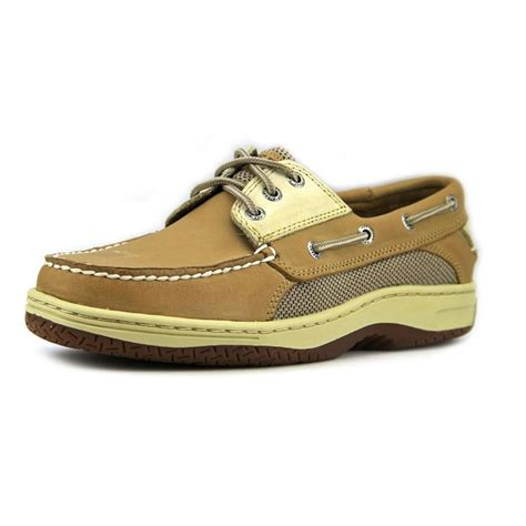 sperry top sider sperry top sider billfish 3 eye moc leather brown boat shoe 25 shoes