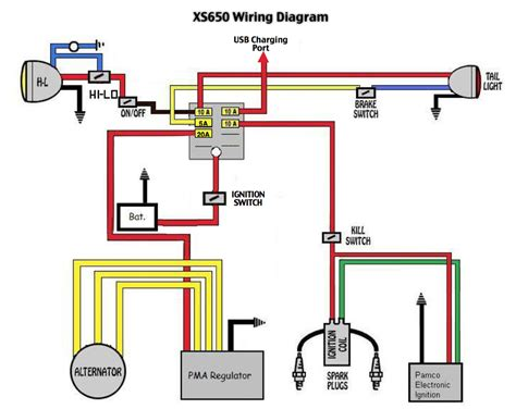 1979 Xs650 Electronic Ignition Wiring Diagram by Project Xs650 Shaun Mayfield Kaizen Total