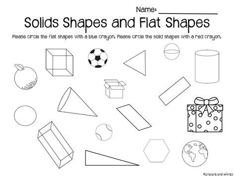 comparing flat  solid shapes  images math