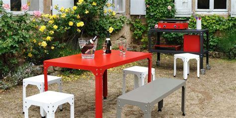 mobilier de jardin en metal ekipia