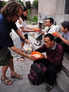Briton doled out food to homeless people in China for 7 ...