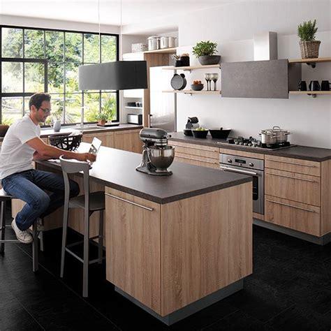 cuisine idealis des cuisines modernes en bois le retour euphrozine