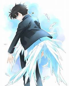 Anime With Angelic Wings by animepewds on DeviantArt