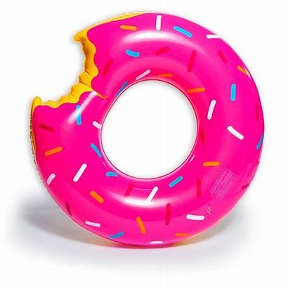 Pool Donut Transparent Floatie Five Below Float