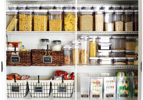 kitchen storage and organization ideas 22 pretty ways to organize your pantry brit co 8607
