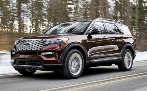 detroit auto show  ford explorer  daily