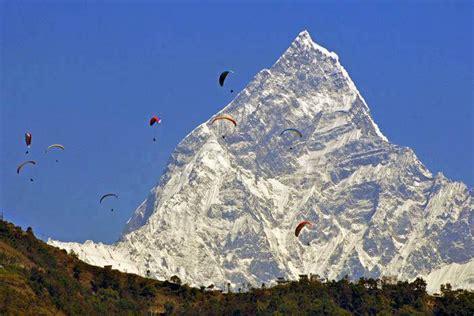 Fishtail Mountain & Paragliding,Pokhara,Nepal | Aryal ...