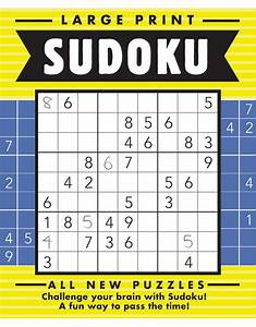 Large Print Sudoku  15  Bright