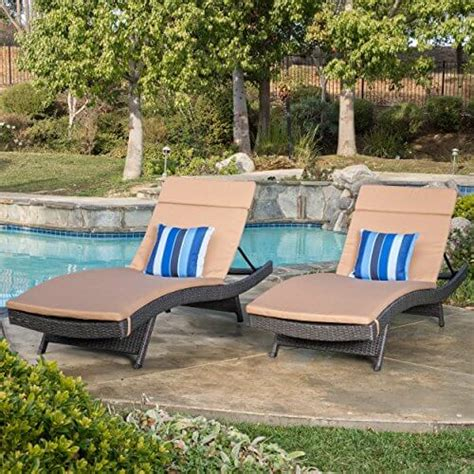 lakeport adjustable outdoor chaise lounge chair insteading