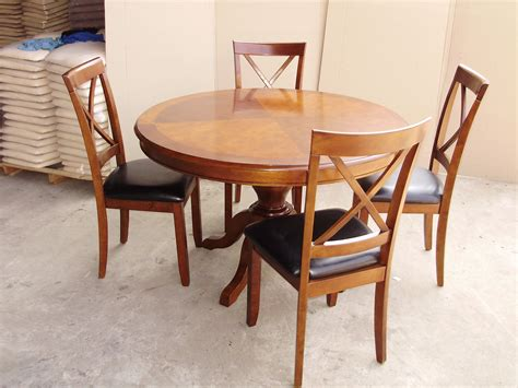round dining table for 4 espresso round dining table nelson espresso round 4 piece