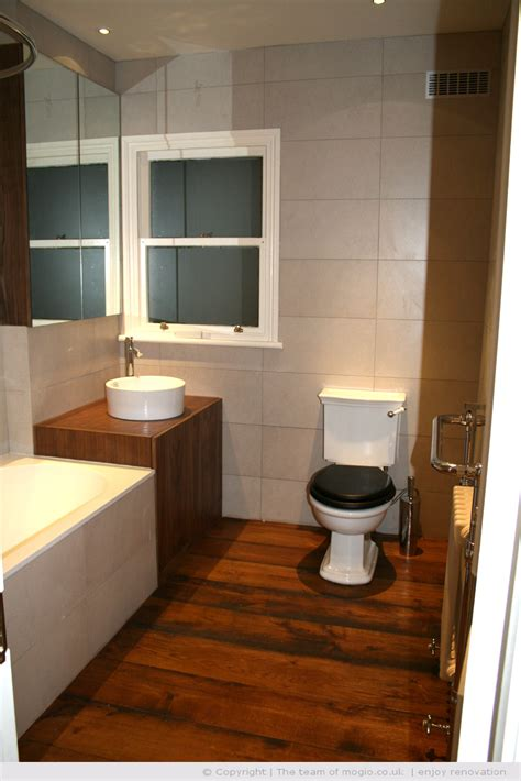 Wooden Flooring For Bathroom by Bathrooms With Wooden Floors Bathroom Bamboo Flooring