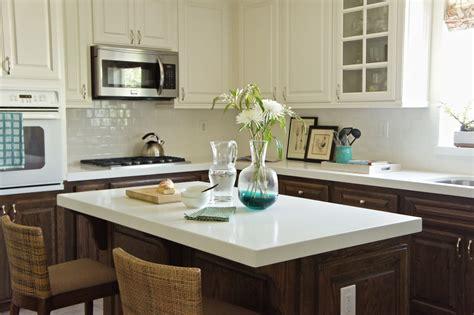 kitchens with different color cabinets kitchen makeover designstilesdesignstiles 8787
