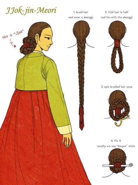 jjok jin meori  glimja korean korean traditional
