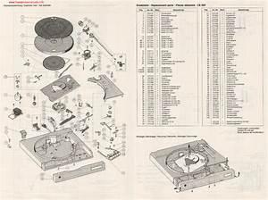 Dual Cs520 Turntable Service Manual Download  Schematics