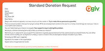 awesome  effective fundraising letter templates