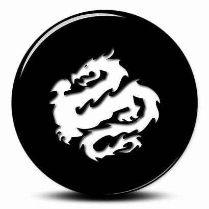 Cool Dragon Icon Icons Chinese Tattoo Transparent