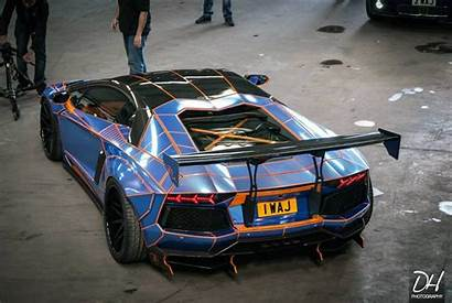 Liberty Walk Lamborghini Aventador Tron Cars Supercars