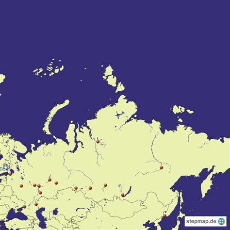 russland topographie von landrat landkarte fuer russland