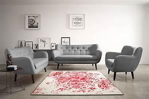 Canapé Scandinave Gris : ensemble canap fixe 3 2 places gris en tissu style scandinave alexander 4 ~ Teatrodelosmanantiales.com Idées de Décoration