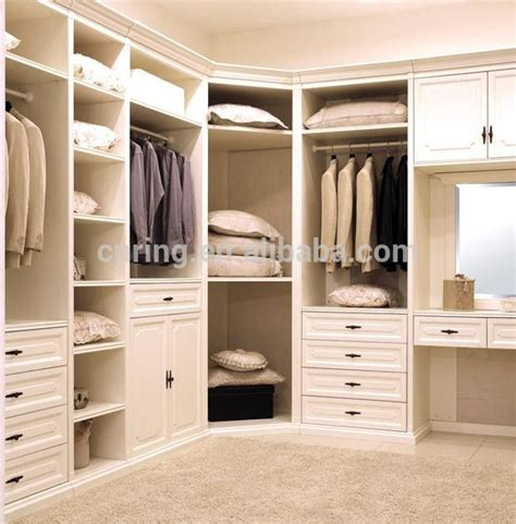 latest design modern asian style bedroom closet wood