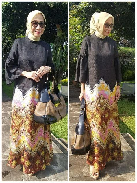 abaya jumputan palembang  sekar satari kebaya batik