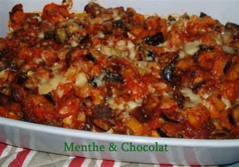 cuisiner des tomates vertes gratin aux deux poivrons et à l 39 aubergine menthe et