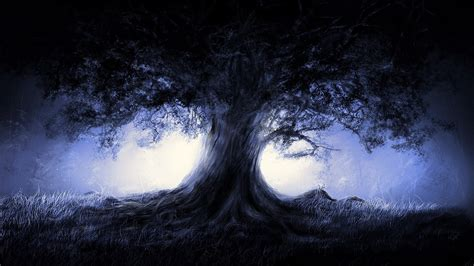 fantasy tree wallpaper