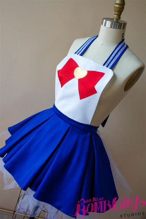 Nerdy Kitchen Aprons by Buy Sailor Moon Apron Here Nerdy Geeky Stuff