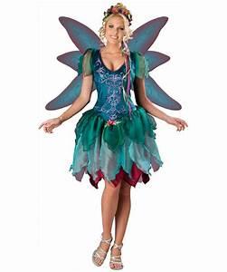 Enchanted Fairy Costume - Adult Costume - Fairy Halloween ...