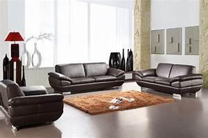 Contemporary Sofa Set Leather : Modern Contemporary Sofa