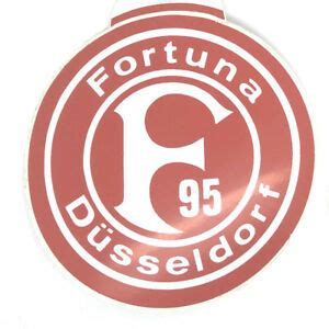 Founded in 1895, fortuna entered the league in 1913 and was a fixture in the top flight from the early 1920s up to the creation of the bundesliga in 1963. Fortuna Düsseldorf Aufkleber Logo Bundesliga Fussball #227   eBay