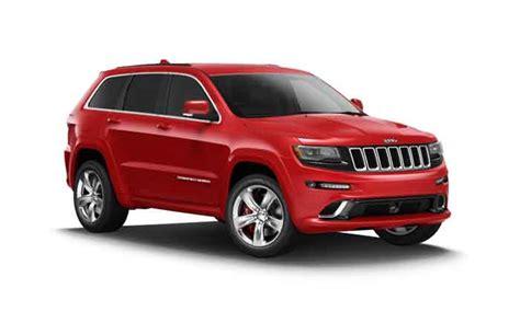 jeep grand cherokee srt monthly leasing deals