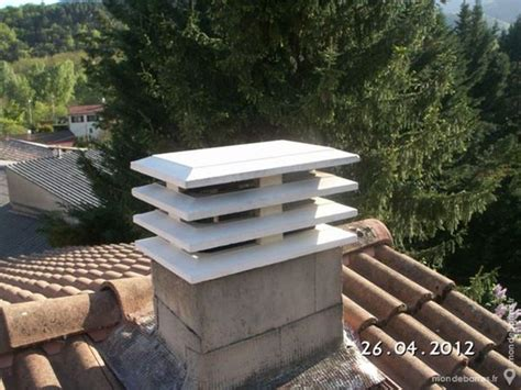 chapeau cheminee beton pas cher