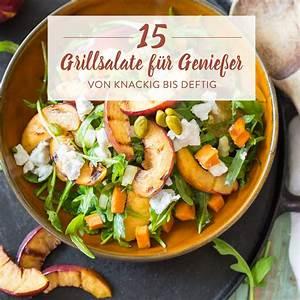 Leichte Salate Rezepte : 15 salate zum grillen die nach sommer schmecken ~ Frokenaadalensverden.com Haus und Dekorationen
