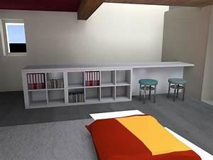 Bureau Plan De Travail : meuble garde corps architecte d 39 int rieur ard che ~ Preciouscoupons.com Idées de Décoration