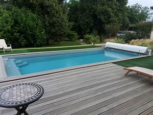 Piscine Semi Enterrée Coque : installations constructions gilbert piscines sas ~ Melissatoandfro.com Idées de Décoration
