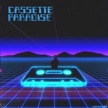 Retro Kidmograph Cp Vaporwave 80s Neon Aesthetic