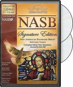 New american standard bible signature edition 2 dvd nasb for New american standard bible red letter edition