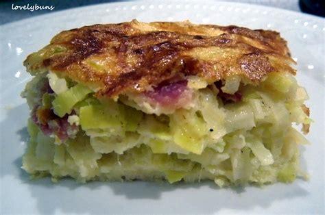 flamiche aux poireaux leek omlette lovely buns