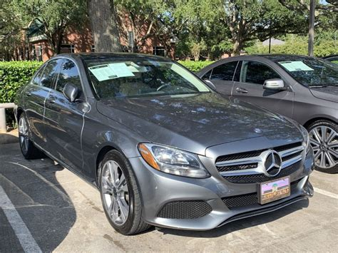 The w205 was preceded by the w204. Certified Pre-Owned 2017 Mercedes-Benz C-Class C 300 Rear Wheel Drive SEDAN