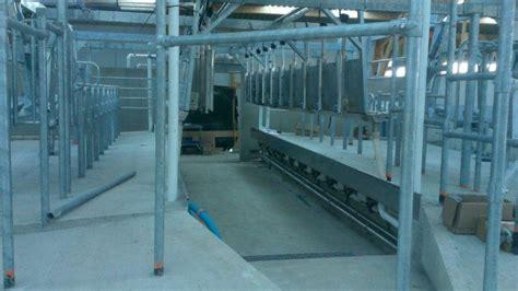 salle de traite vaches laiti 232 res dans le 49