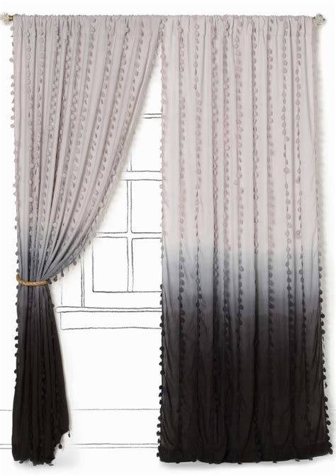 wavering ombre curtain