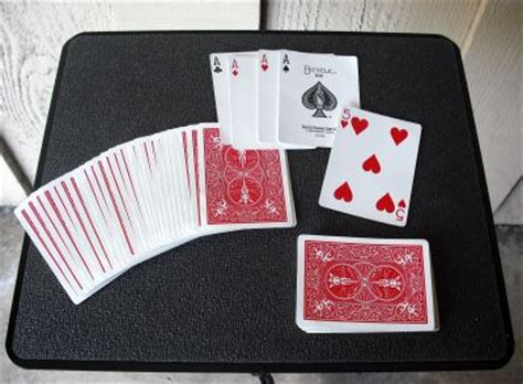 Easy card tricks is something i really love. How to Do the Best of Fives Card Trick