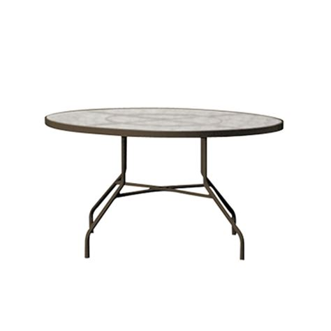 acrylic 42 quot dining table tropitone