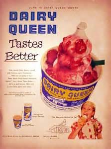Vintage Dairy Queen Ad