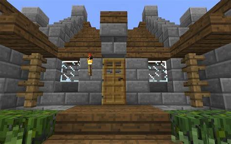 survival house tutorial minecraft building