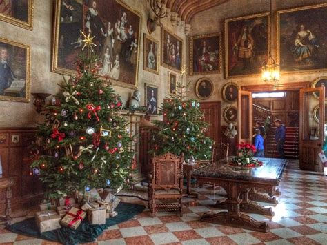 victorian christmas  charlecote park cosy life