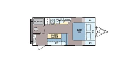 Coleman Travel Trailers Floor Plans by New 2017 Coleman Coleman Cts16fb Travel Trailer For Sale